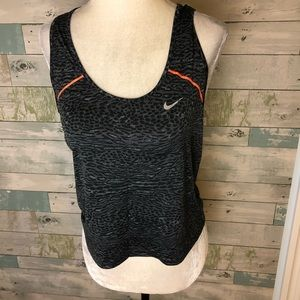 Nike cropped length top size S